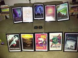 Whether you're promoting an event, selling a product, or advertising a movie, your poster's quality is crucial to your venture's success. Jpl Travel Posters My Girlfriend And I Framed Space