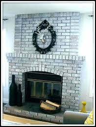 grey brick fireplace grey brick fireplace chamber gray brick fireplace wood mantel