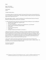 Mortgage Reinstatement Letter Example Luxury Hardship Letter For