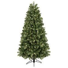 Artificial Christmas Trees  Christmas Trees  The Home DepotPre Lit Spruce Christmas Tree