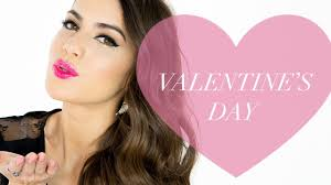 valentine s day old hollywood look beauty pop with camila coelho the platform you