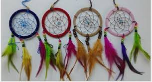 Dream Catchers For Your Car 100%OFF 100cm Indian Ornaments Colored Feathers Dreamcatcher 91