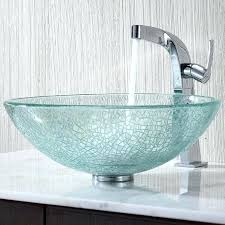 glass bathroom sink bowls appealing crafted glass bathroom sink and clear glass vessel sink and glass vanity basins glass home interior pictures cowboy