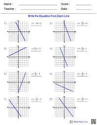 linear equations drawing drawing the lines project equation and math