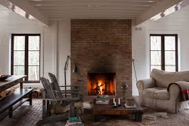 Distressed Industrial Living Room  There Is Something Very Chic Industrial Rustic Living Room