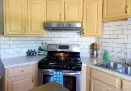 Painting Kitchen Tile Backsplash Plans Custom Inspiration Ideas