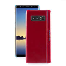 samsung galaxy note 8 leather case blue square