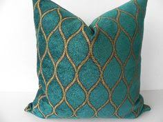 teal and gold pillows. Simple Pillows Iman Velvet Decorative Pillow 19X19Both SidesDesigner Home Decor FabricThrow  With Teal And Gold Pillows O