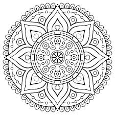 Free Mandala Coloring Pages Online Mandalas Pa Asukapasqu Win