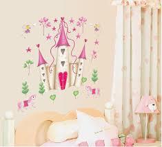 Ufengke® castello di cartone animato principessa adesivi murali
