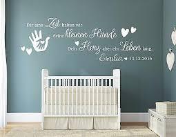 Wandtattoo Kinderzimmer Name Baby Geburt Wandspruch Wunschname
