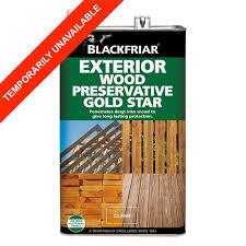 Blackfriar Wood Preservative Gold Star