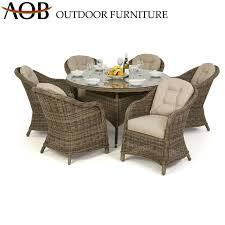 patio round dining table