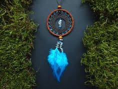 Small Dream Catchers For Sale Samll dream catcher bag charm rear view mirror by DeiDreamCatchers 67
