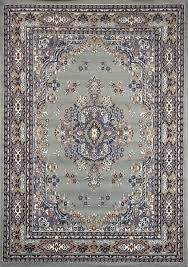 brown and gray rug silver gray area rug 6 x 8 oriental carpet actual 5 2