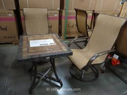 agio patio furniture perfect peanut table set with harmony peanut chairs