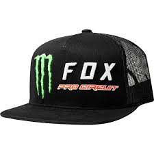 FOX MONSTER PC SNAPBACK HAT [BLK] OS | Fox Racing - Foxracing.com Racing® Black