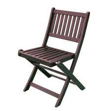 foldable eucalyptus outdoor dining chair