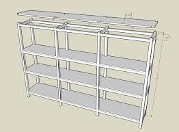 storage shelf plans. Delighful Storage Woodwork Basement Shelf Plans PDF On Storage T