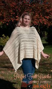 Free Crochet Poncho Pattern Simple Inspiration Ideas