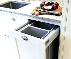 recycling bins ideas kitchen recycling bin ideas for home