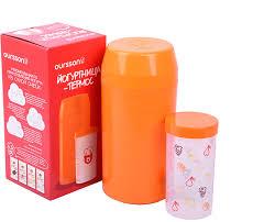 <b>Йогуртница</b>-<b>термос</b>, <b>Oursson</b> FE55050/OR, оранжевый, 1 л ...