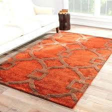 red and orange rug handmade trellis red brown area rug red orange and yellow rugs