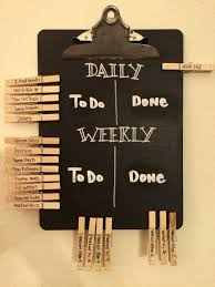 Even Grown Ups Need A Chore Chart Daily And Weekly