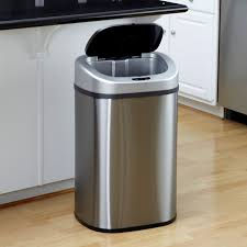 great nine stars trash can outdoor garbage cans walmart gallon also walmart  kitchen garbage cans and latest kitchen remodeling ideas with kitchen  garbage ...