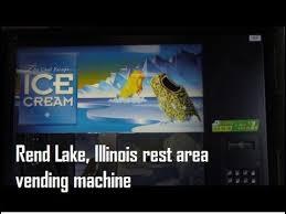 Vending Machine License Illinois Simple Vending Machine Rend Lake Rest Area On I48 In Illinois YouTube
