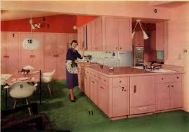 Retro Kitchen Decorating A 1960s Kitchen 21 Photos With Even More Ideas From