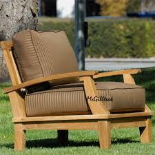 teak outdoor patio deep seating lounge chair bali lounge chair