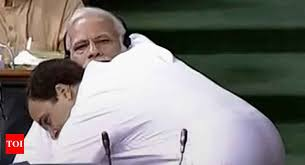 rahul gandhi gains confidence pm modi gets a hug india news times of india