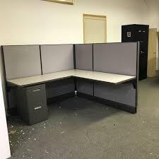 office cubicle desks. Unique Office Herman Miller 5 12u0027 X Workstation Inside Office Cubicle Desks