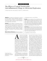 a parison of topical non steroidal anti inflammatory s to steroids for control of post cataract inflammation