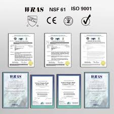 Certifications Yuhuan Kingjoy Metal Products Co Ltd