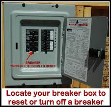 no power to outlets in one room or wall how to troubleshoot circuit breaker won't turn back on at Fuse Box Breaker Wont Reset