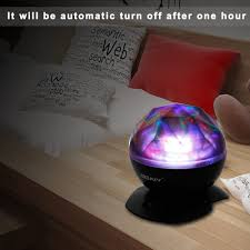 Soaiy Night Light Projector Soaiy Sleep Soother Aurora Projection Led Night Light Lamp