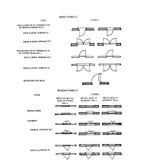Figure 2 7 Architectural Symbols For Doors And Windows