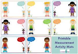 Length Measurement Chart For Kids Measurement Maths Centre Activities Learning 4 Kids