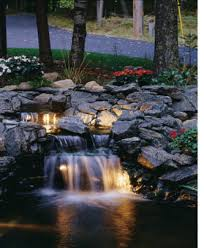 Small Picture Koi Pond Pictures Backyard Pond waterfall and Water
