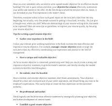 how to write an excellentme no experience powerful and   effective resume objective statements career for in cv how to write imposing an excellent and cover