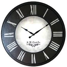 neat large wall clocks big at to throughout 3 gallery black extra and white clock metal large black wall clocks