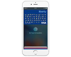 iphone mit apple pay und libertycard