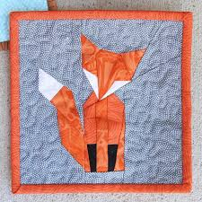 Looking for your next project? You're going to love Foundation ... & Name: 'Quilting : Foundation Paper Pieced Mr Fox mini Adamdwight.com