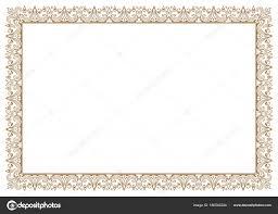 frame border.  Border Floral Frame Border For Certificate U2014 Stock Vector On Frame Border G