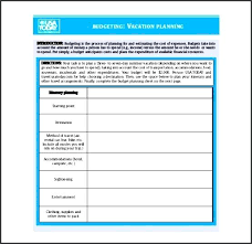 vacation expense calculator budget calculator template travel cost excel ipcco