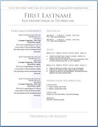 Free Resume Templates For Word 2010 Enchanting Free Resume Templates For Microsoft Word Noxdefense
