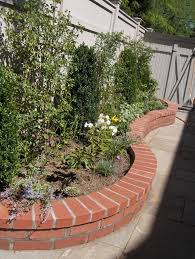 Garden Walling Ideas Best 25 Brick Wall Gardens Ideas On Pinterest Plants  For Small