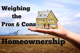 Home Ownership Pros and Cons  Picture